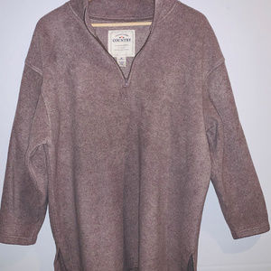 Victoria's Secrets Womens Country Fleece Pullover